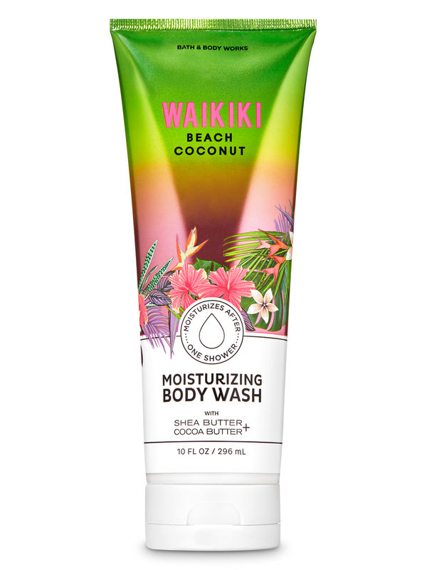 Waikiki Beach Coconut Moisturizing Body Wash
