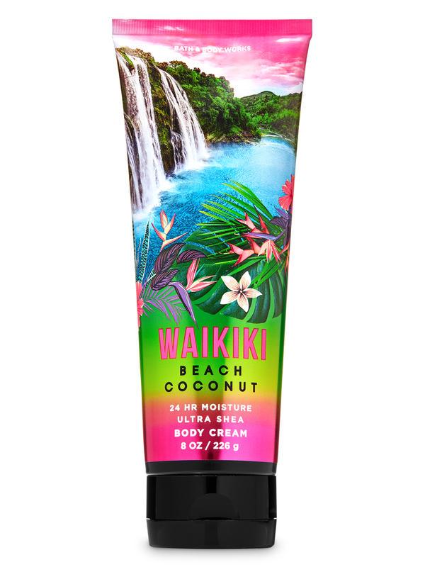 Waikiki Beach Coconut Ultra Shea Body Cream