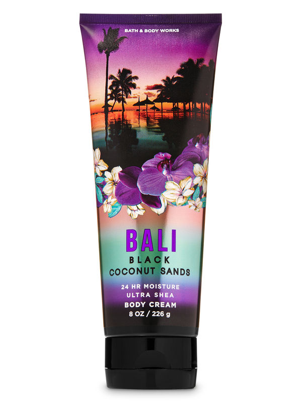 Bali Black Coconut Sands Ultra Shea Body Cream