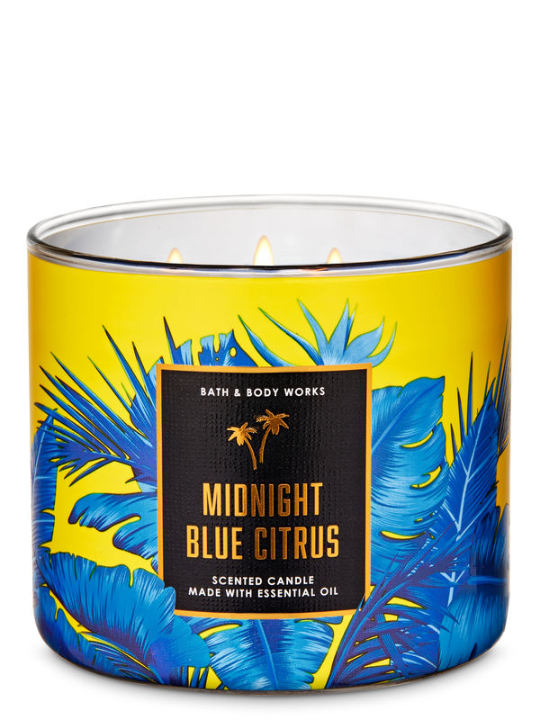 Midnight Blue Citrus 3-Wick Candle