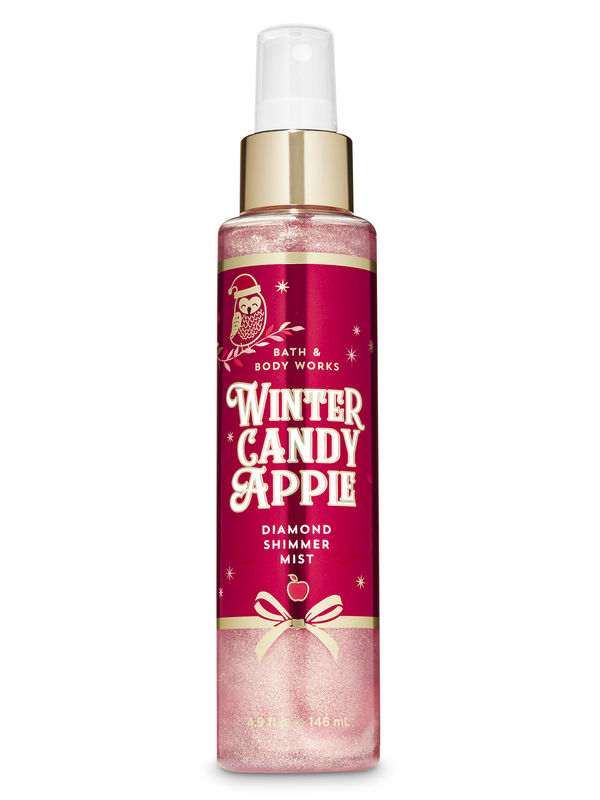 Winter Candy Apple Diamond Shimmer Mist