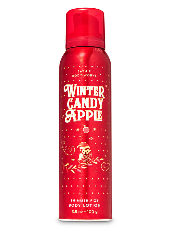 Winter Candy Apple Shimmer Fizz Body Lotion