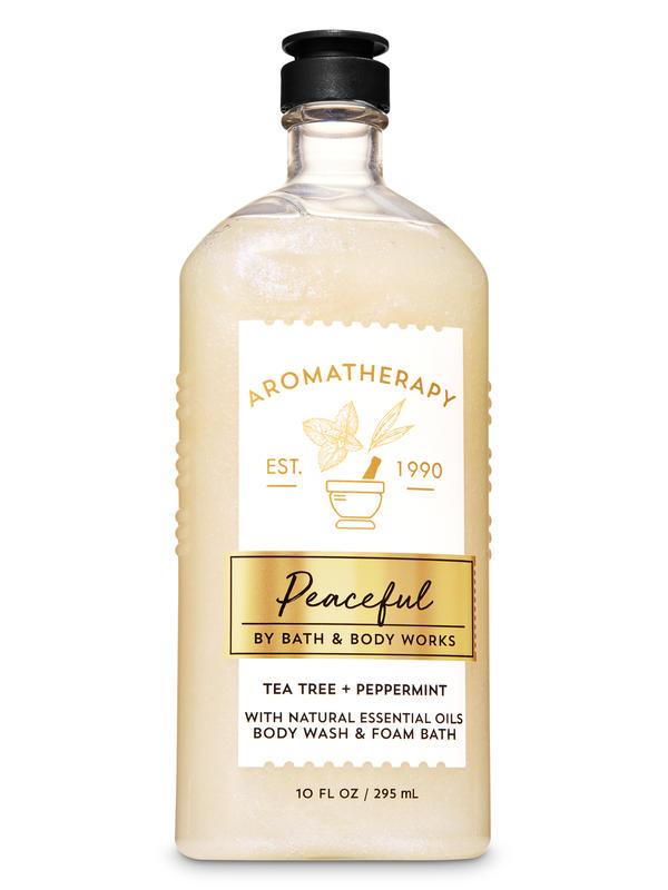 Tea Tree Peppermint Body Wash and Foam Bath