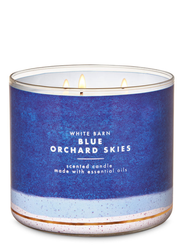 Blue Orchard Skies 3-Wick Candle