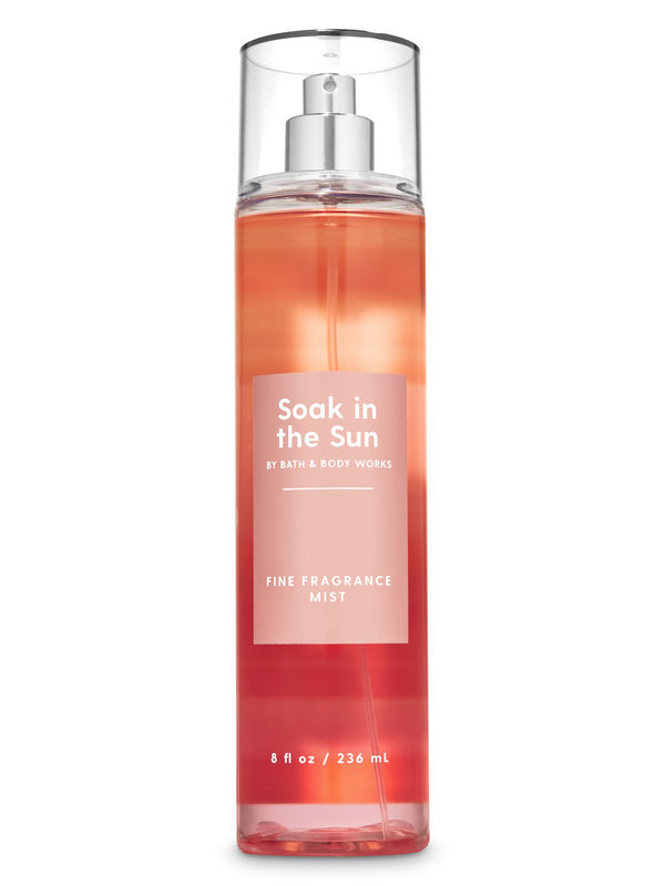 Soak in the Sun - Peach Sunset Fine Fragrance Mist