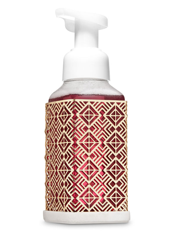 Radiating Diamond Gentle Foaming Soap Holder