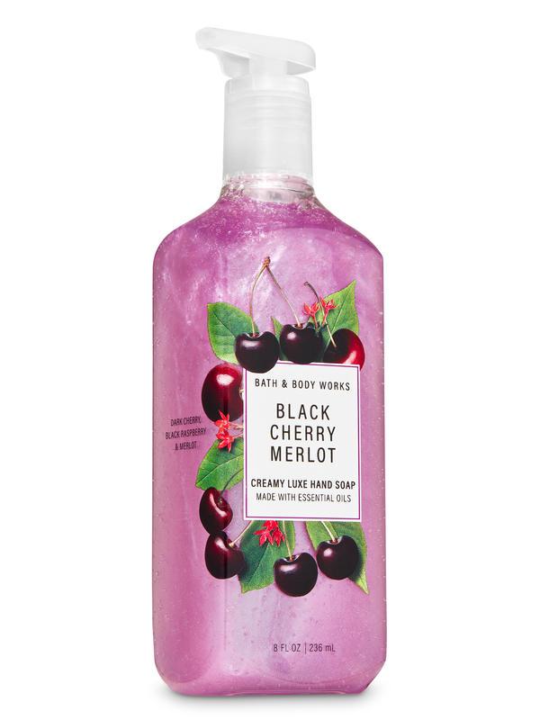 Black Cherry Merlot Creamy Luxe Hand Soap