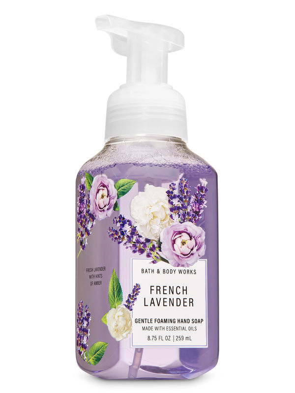French Lavender Gentle Foaming Hand Soap