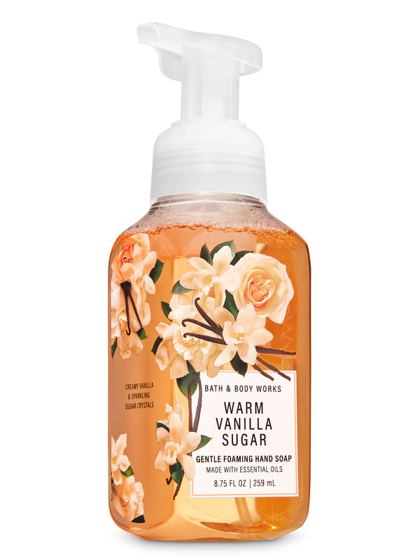 Warm Vanilla Sugar Gentle Foaming Hand Soap