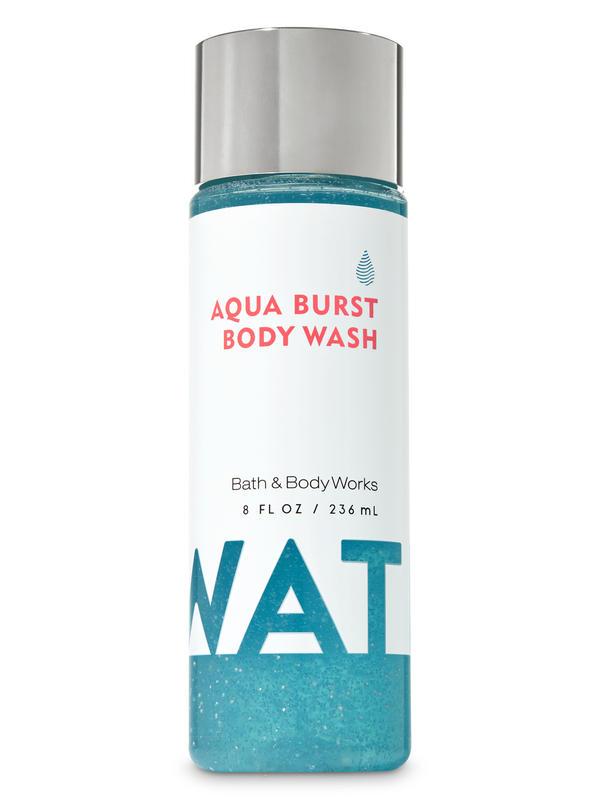 Water Aqua Burst Body Wash