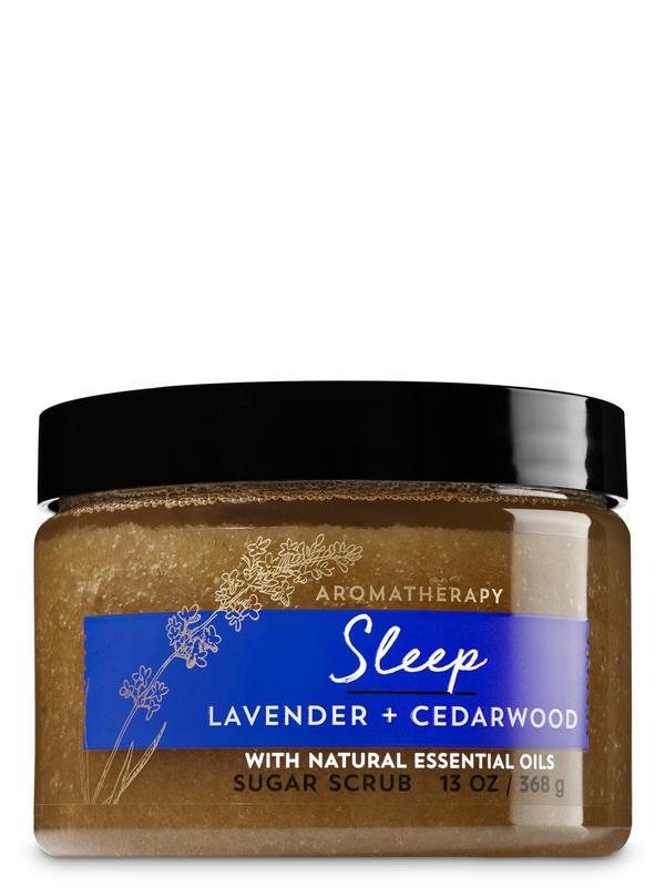 Lavender Cedarwood Sugar Scrub