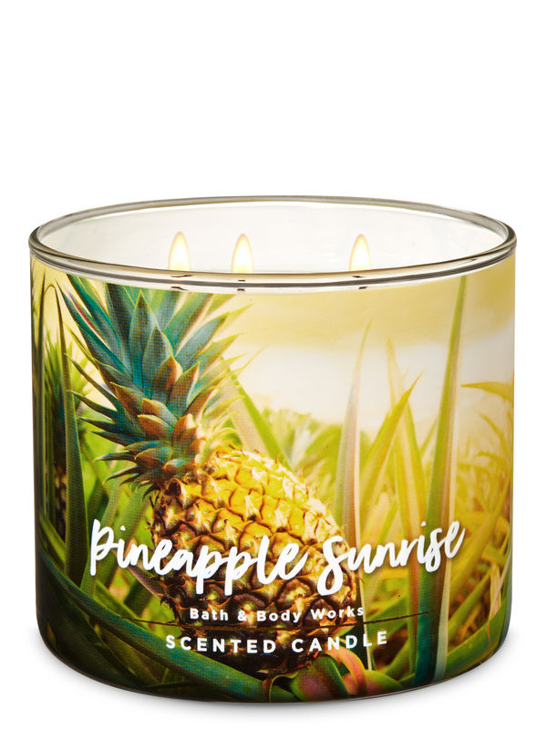 Pineapple Sunrise 3-Wick Candle