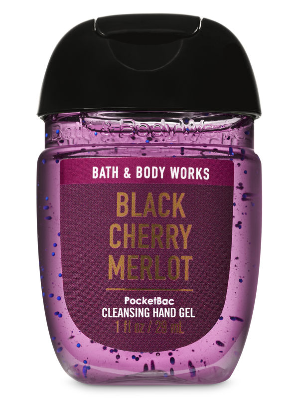 Black Cherry Merlot PocketBac Cleansing Hand Gel