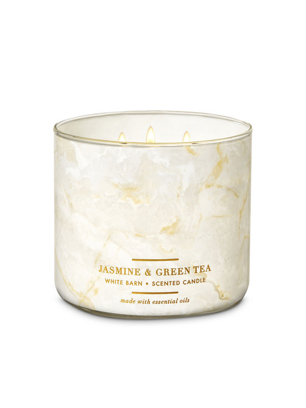 Jasmine & Green Tea 3-Wick Candle