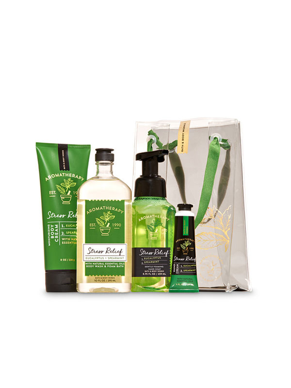 Eucalyptus Spearmint Aromatherapy Gift Bag Set