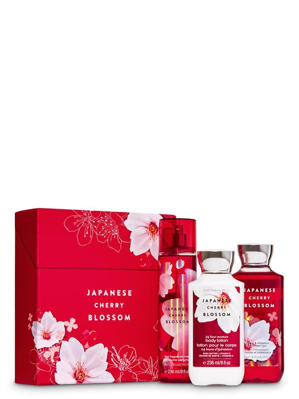 Japanese Cherry Blossom Gift Set