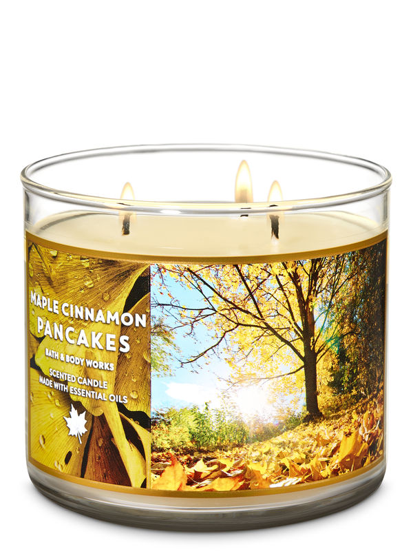 Maple Cinnamon Pancakes 3-Wick Candle