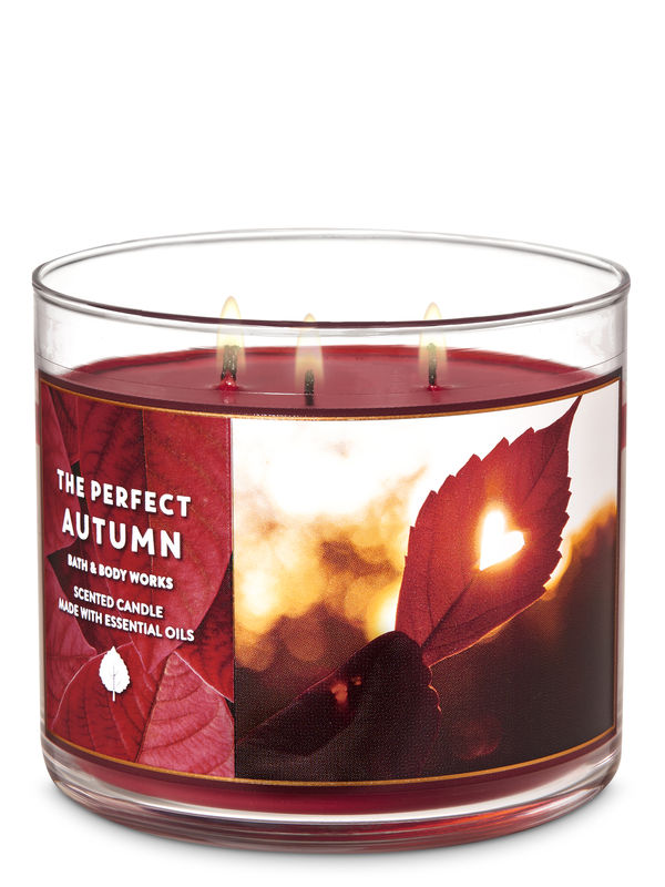 The Perfect Autumn 3-Wick Candle