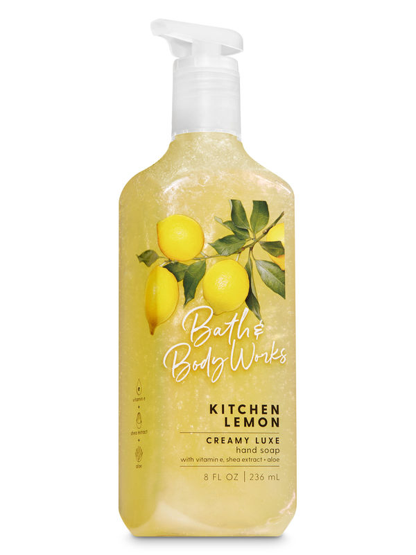 Kitchen Lemon Creamy Luxe Hand Soap