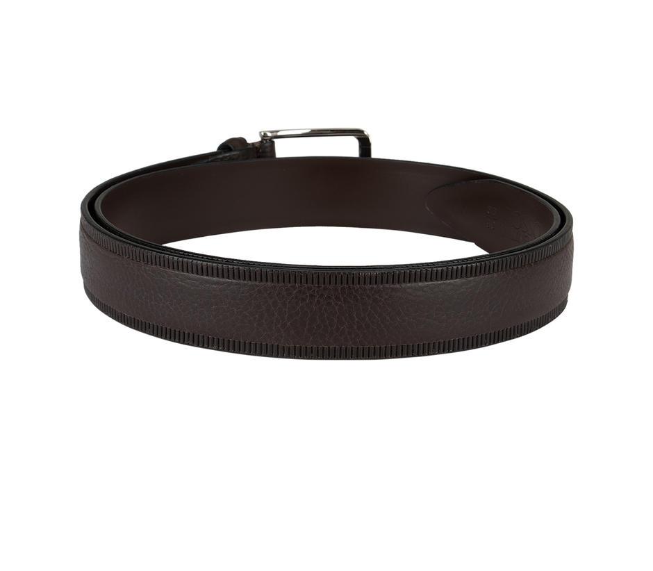 Brown Patterned Belt