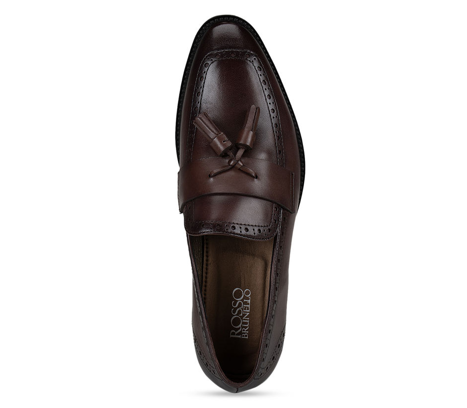 Brown Loafers With Tassels