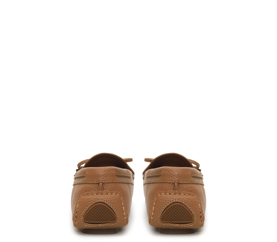 Leather Bow Moccasin
