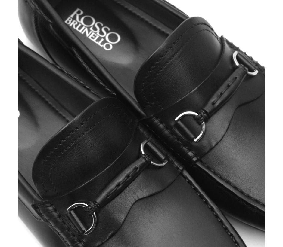 Plain Patent Leather Moccasins