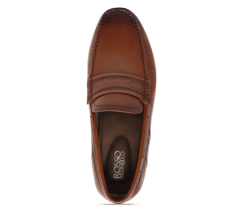 Moccasins with Signato Panel