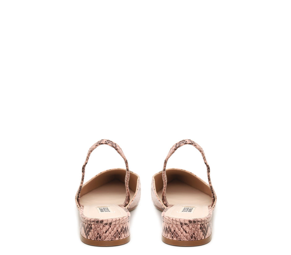Animal Print Flat Sandals