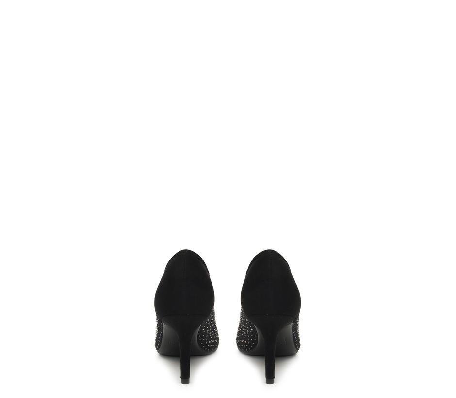 Small Studded Net Heels