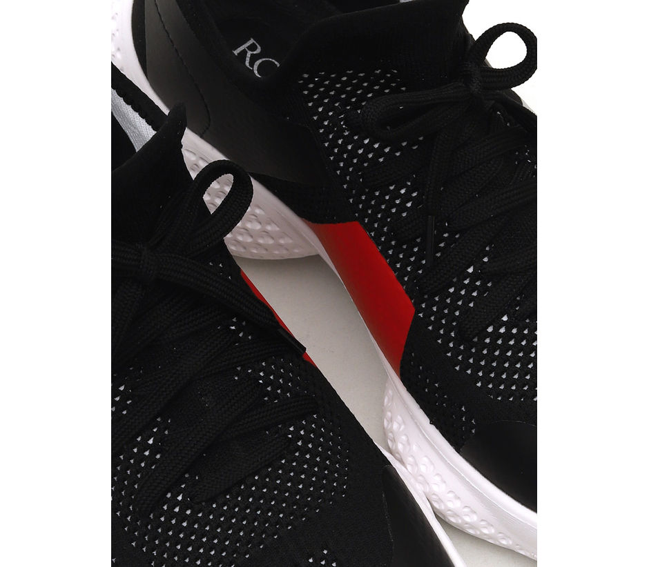 Black And White Sports Shoes