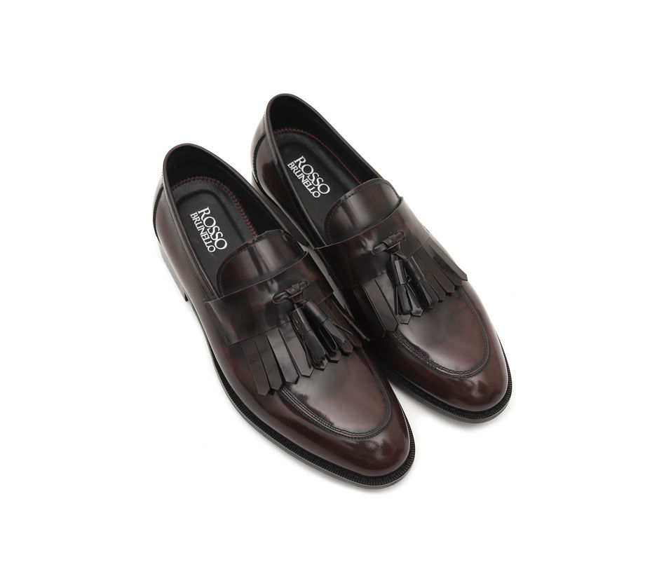 Patent Tasseled Loafers