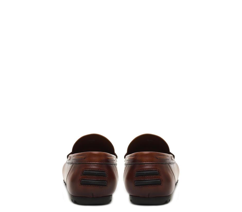 Plain Tan Moccasins