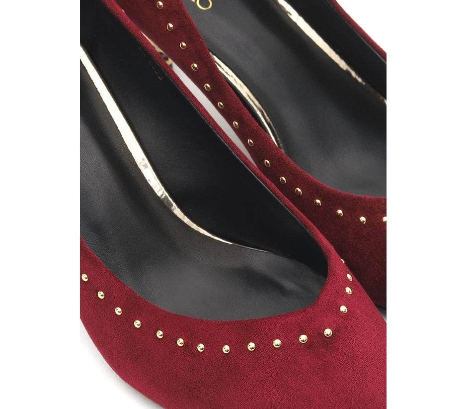 Studded Pointed Toe Heels