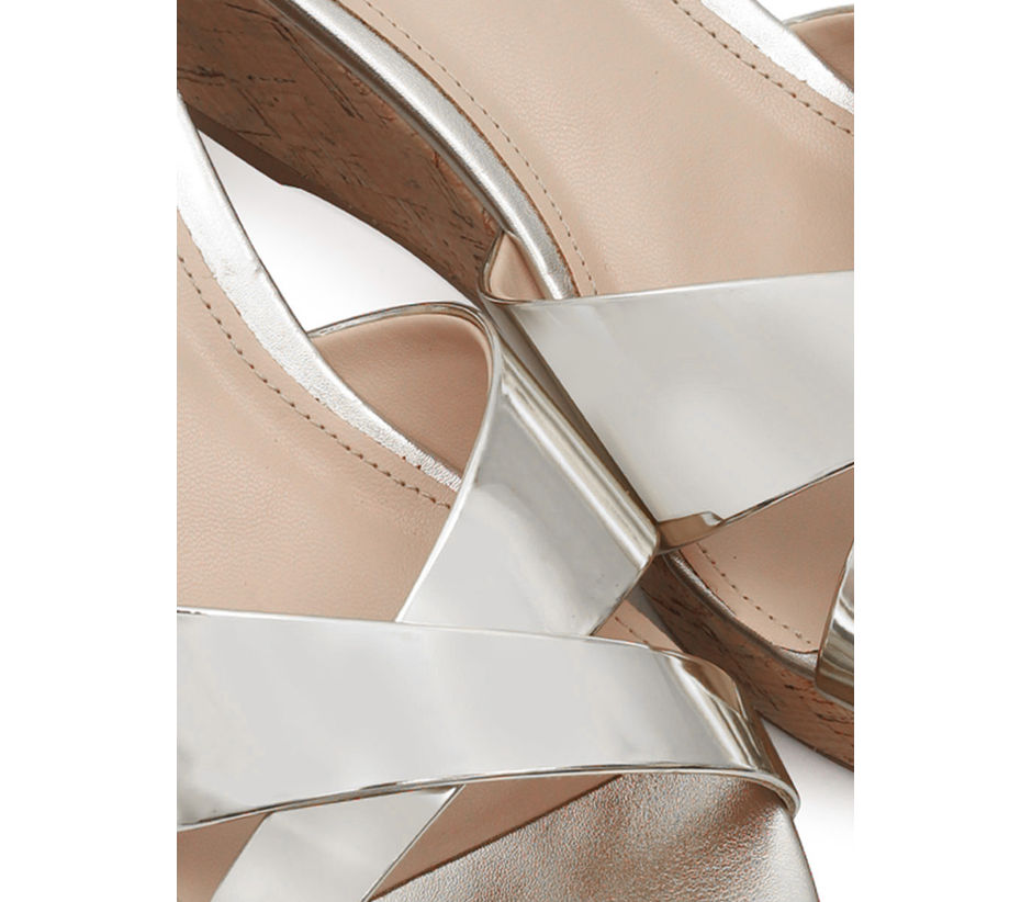 Criss-Cross Strappy Wedges