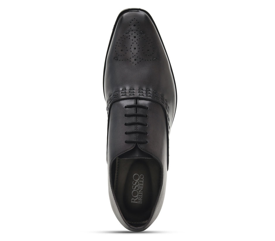 Textured Leather Lace Ups
