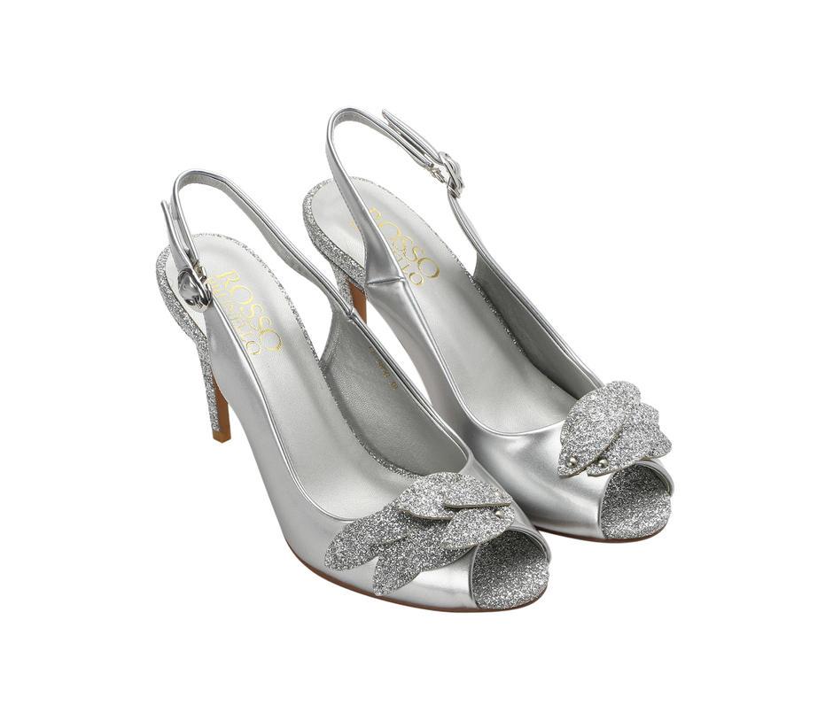 Patent Peep Toe Heels
