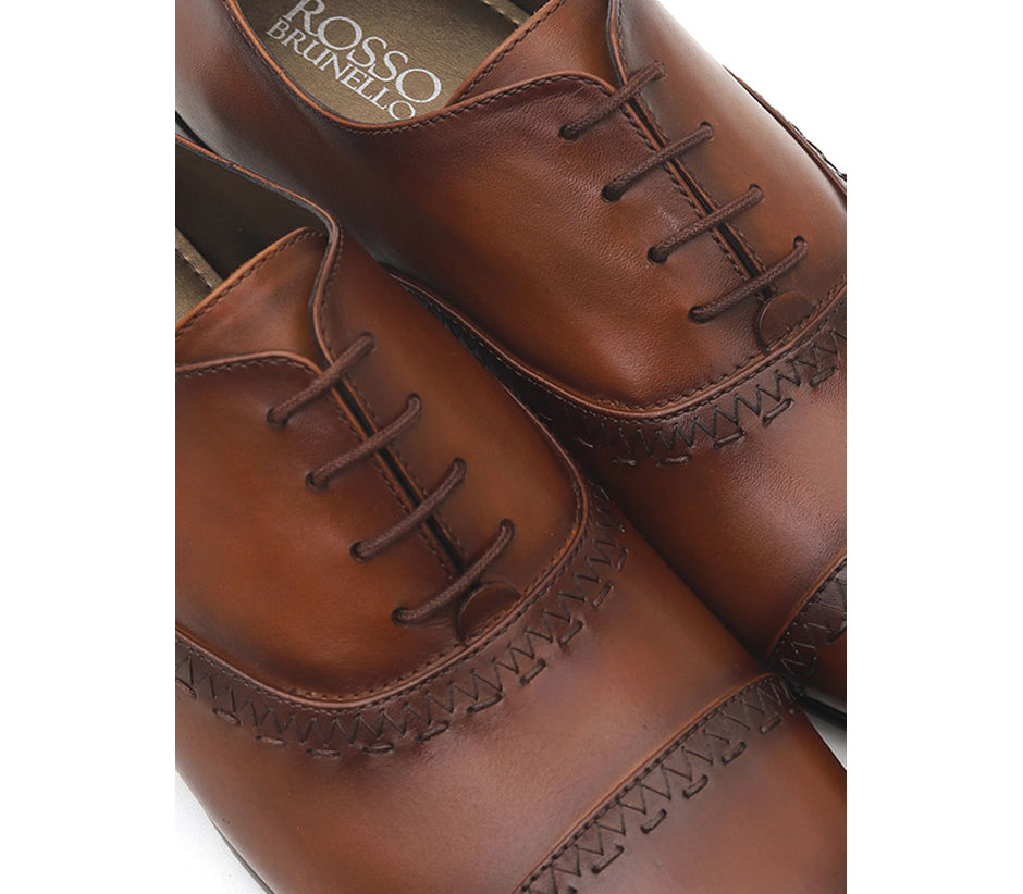 Tan Oxfords