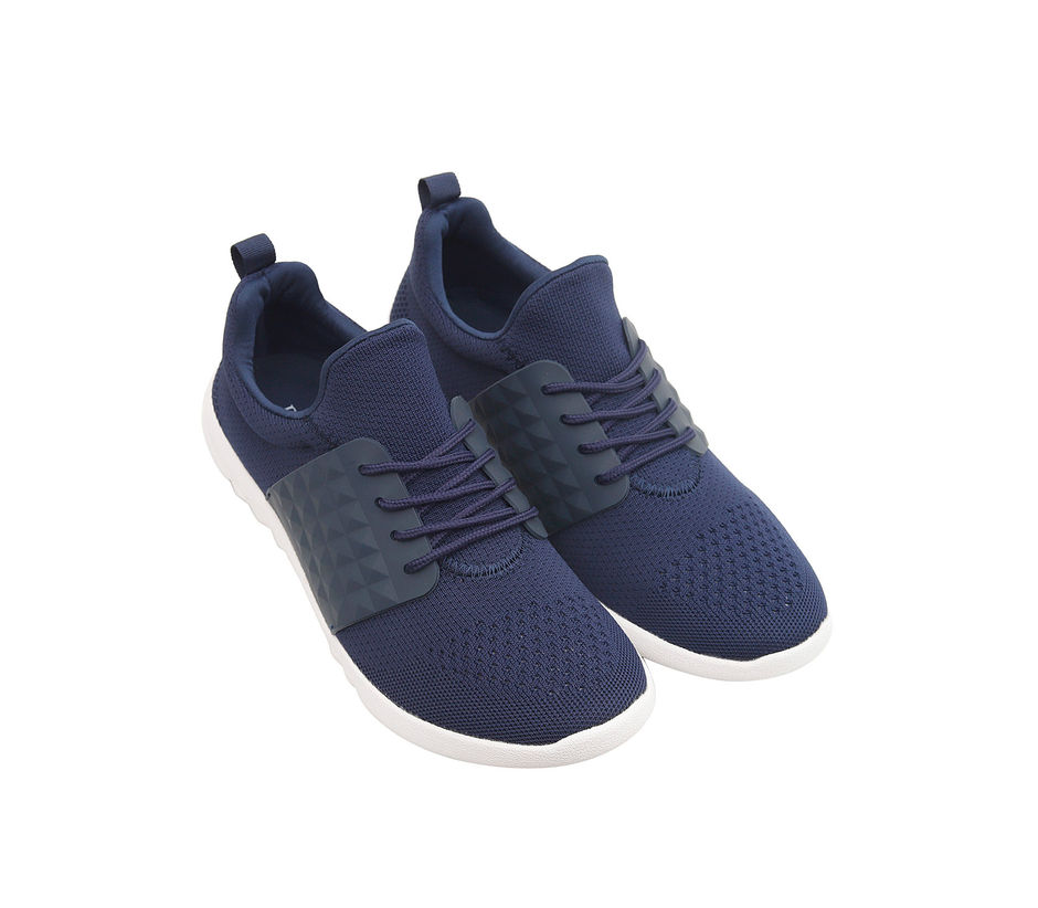 Contrast Casual Sneakers