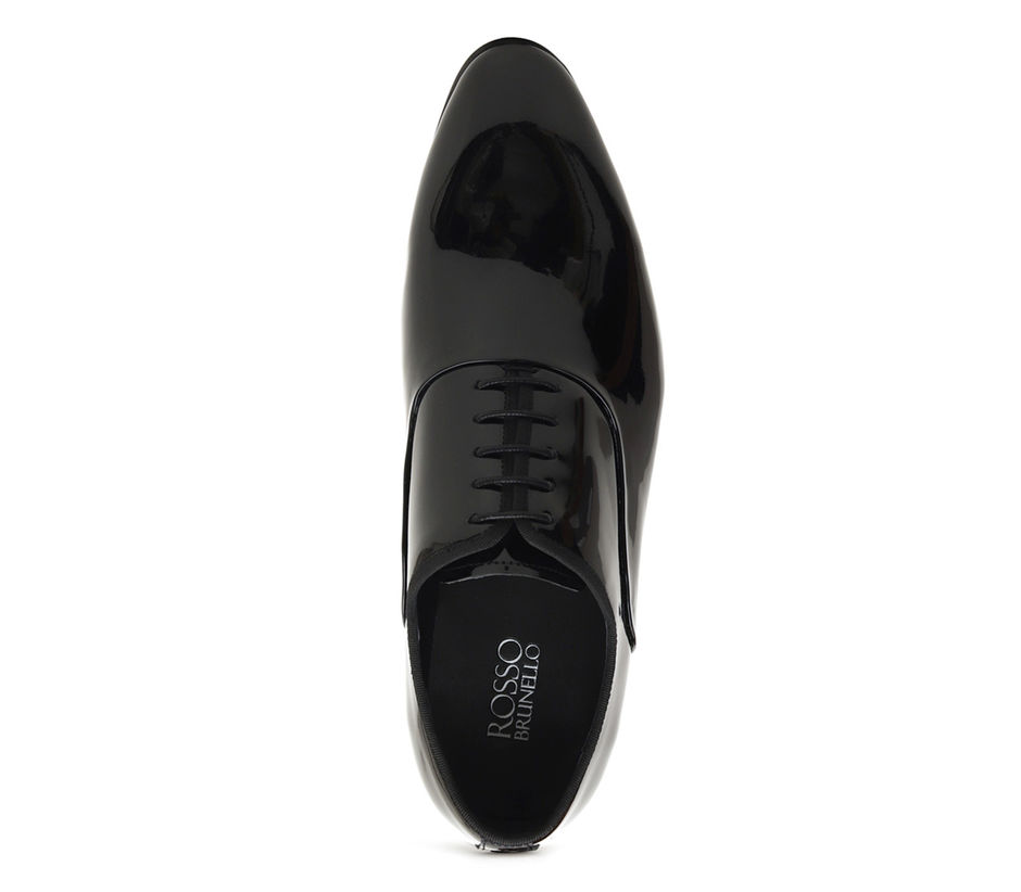 Plain Patent Oxford Shoes