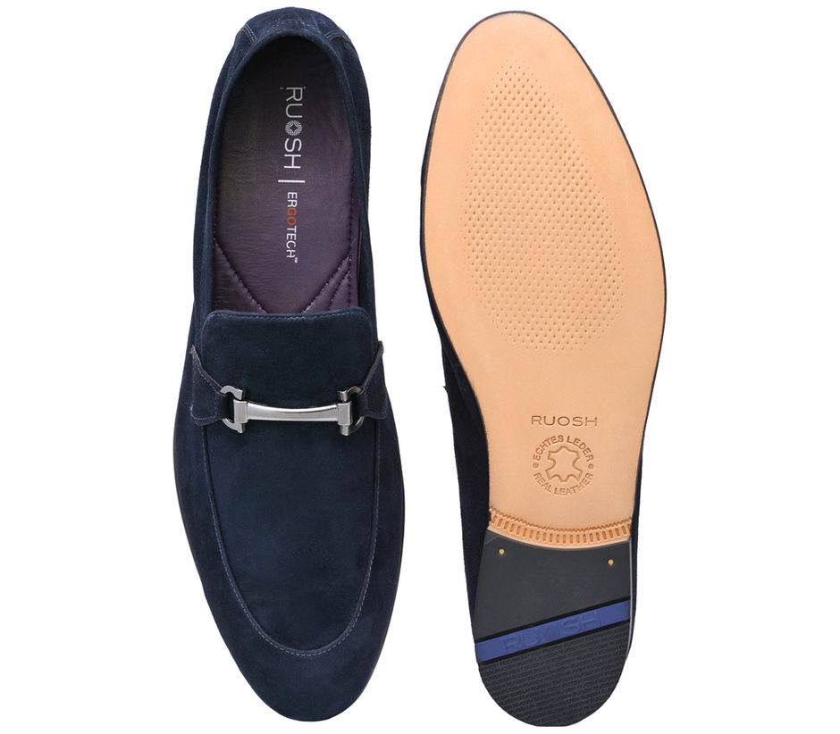 Occasion Slip-on- Blue