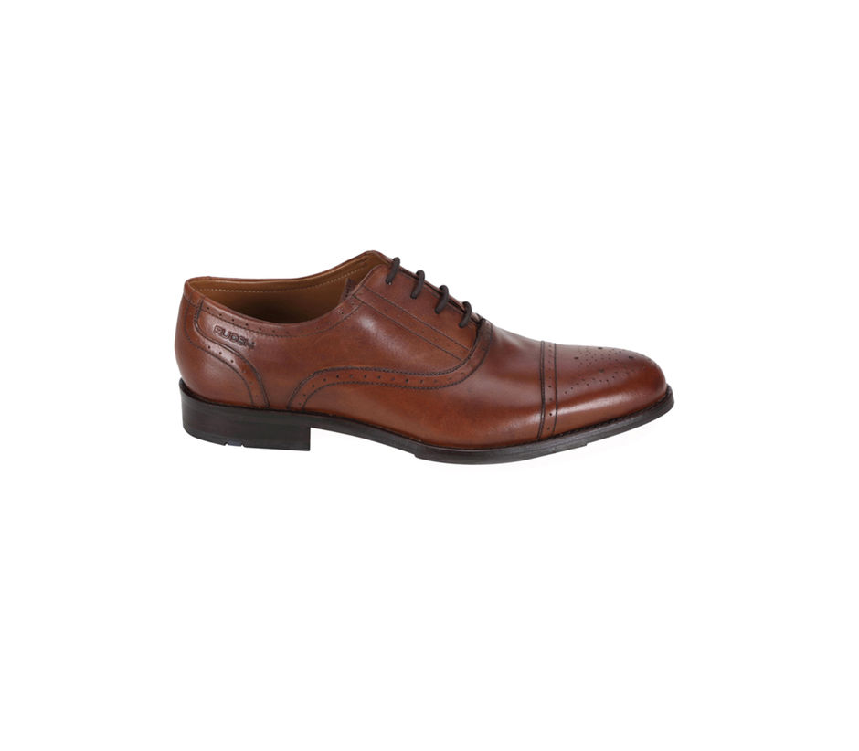 Buy Formal Brown Plain Leather Oxford