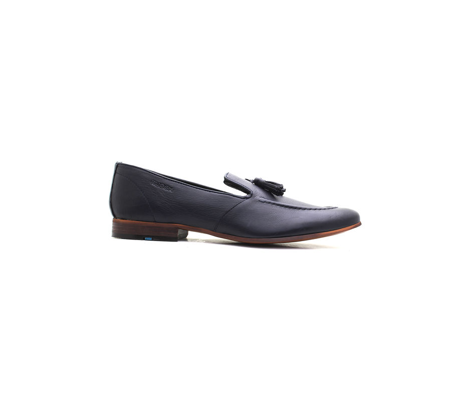 Occasion Slip-on with Tassels - Navy