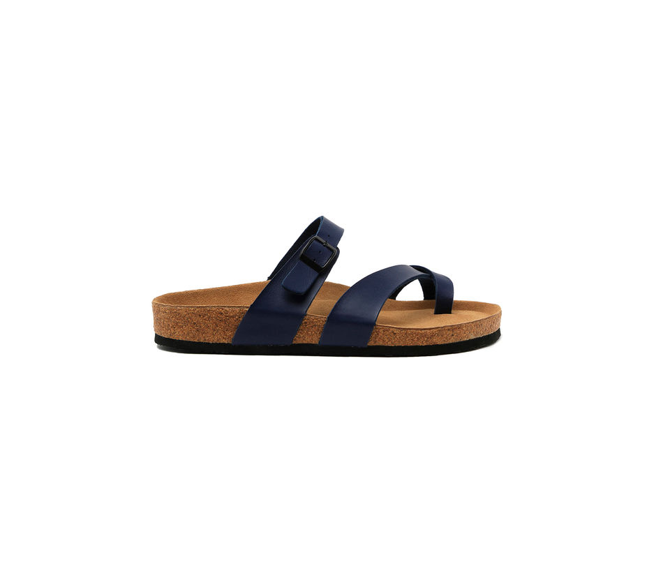 Cygna Single strapped blue Sandals