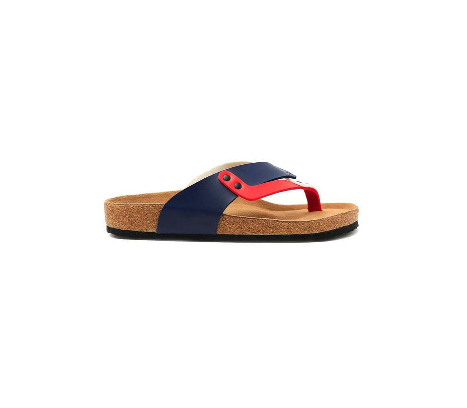 Navy Sandals