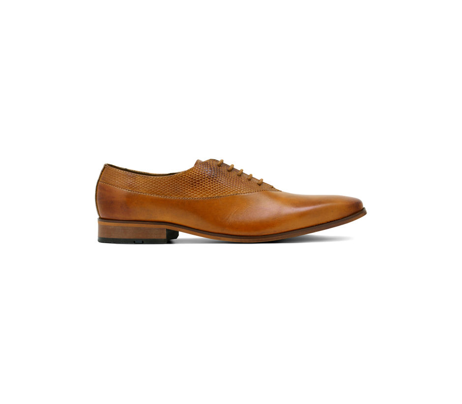 Occasion Lace-up - Tan
