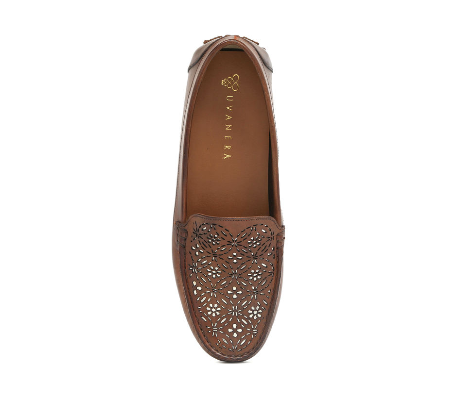 Women's Driving Shoes- Brown