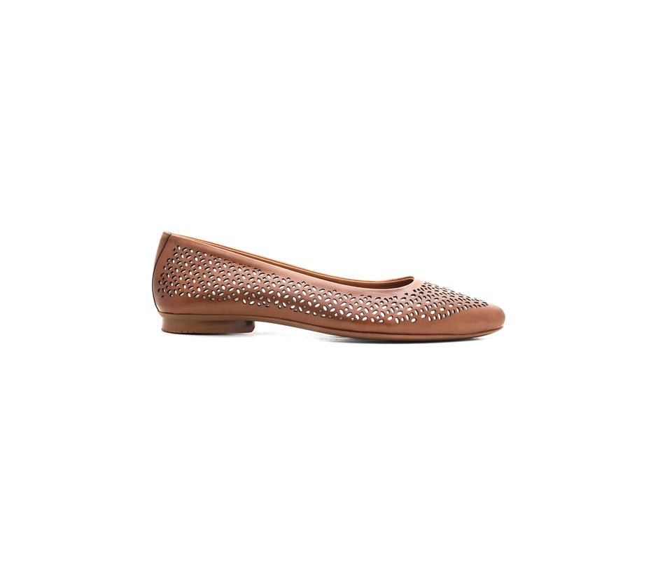 Ballerina Shoes- Tan