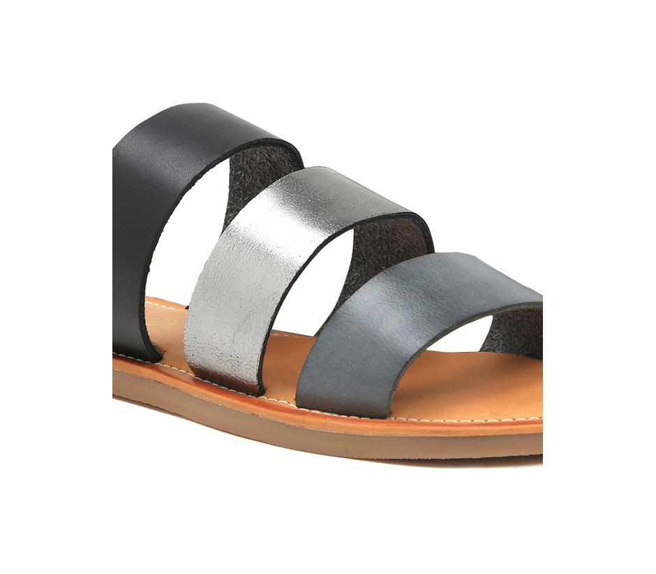 Women's Striped Sandals