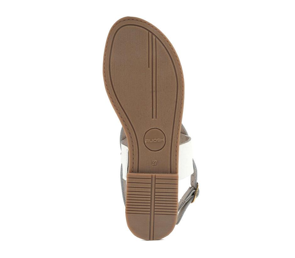 Women's White Sandals